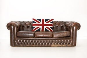 Fauteuil chesterfield so british