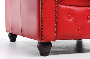 Chesterfield rouge